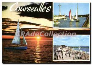 Postcard Modern Courseulles