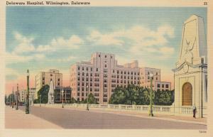 WILMINGTON, Delaware, 1930-40s ; Delaware Hospital