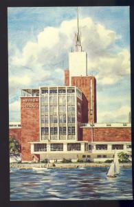 Boston, MA/Mass/Massachusetts Postcard, Museum Of Science