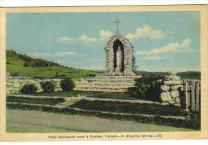 A wayside shrine , Quebec , Canada , 1930s-40s