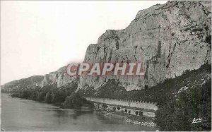 Postcard Modern Donzere Drome The rocks of Rabinet