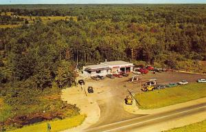 Port Severn Ontario Canada Esso Gas Station Tow Trucks Restaurant Postcard