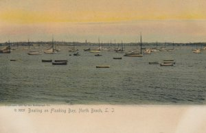 NORTH BEACH , L.I. , New York, 1901-07 ; Boating on Flushing Bay