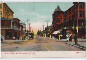 Street Scene. Wildwood NJ