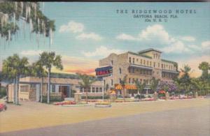 Florida Daytona The Ridgewood Hotel & Grill 1940 Curteich