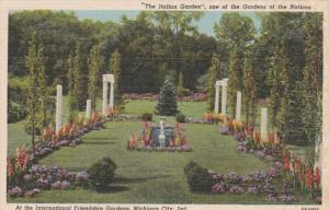Indiana Michigan City The Itallian Garden At International friendship Gardens...