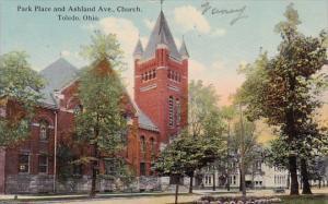 Ohio Toledo Park Place And Ashland Avenue Church
