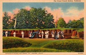 Virginia Yorktown The Grand French Battery Curteich