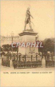 Postcard Ancient Monument Colmar General Rapp