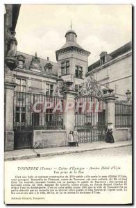 Postcard Thunder Former Bank Caisse d & # 39Epargne Old Hotel d & # 39Uzes ta...