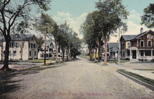 MERIDEN, Connecticut, 1900-10s; Elm St. from Silver St.