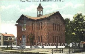 Third Ward School Lambertville NJ 1919