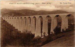 CPA Viaduc de MUSSY-sous-DUN (Long. 500 m Haut 50 m) (437537)