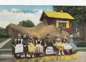 PELLA , Iowa , 1930-40s ; Old Woman who Lived in a shoe