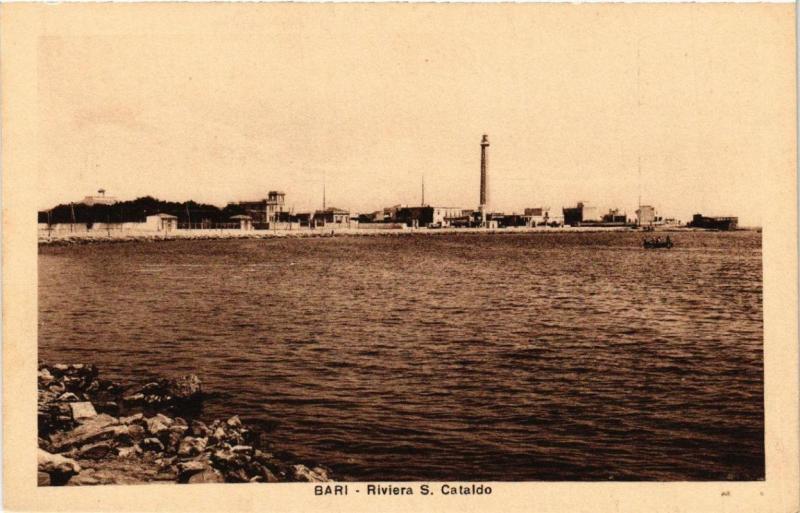 CPA AK BARI Riviera S. Cataldo . ITALY (531566)