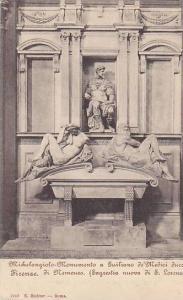 Michelangiolo- Monumento A Guiliano De'Medici Duca Di Nemours, Firenze (Tusca...