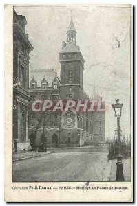 Old Postcard Collection Diary Paris Clock Courthouse