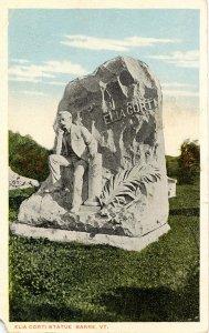 VT - Barre. Elia Corti Monument