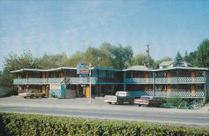 Blue Stream Motel, St. Vernon, British Columbia, Canada, 40-60s
