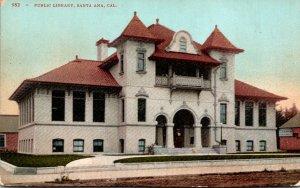 California Santa Ana Public Library
