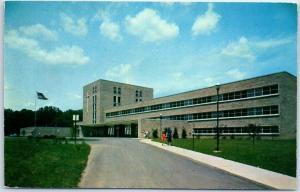 Canton, Ohio Postcard TINKIN MERCY HOSPITAL Building View c1960s Unused