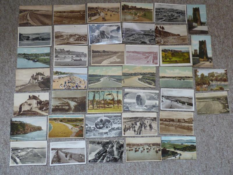 bu0125 - Paignton , Devon - 39 postcards - All Showing