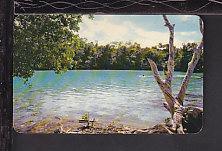 Chan-canab Lagoon,Cozumel,Mexico Postcard BIN