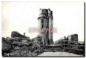 Old Postcard Montlhery (S and O) former Dungeon Cheteau deMontlhery strengthe...