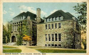 MA - Medford. Tufts College, Barnum Museum