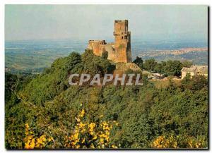 Postcard Modern Castle Tournoel (Puy de Dome)
