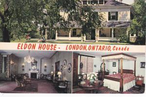 Eldon House , London , Ontario , Canada , PU-1970