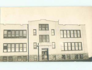 Old rppc BUILDING SCENE Architecture Postcard AB1118