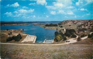 Lake Ogallala Nebraska Postcard