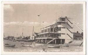 Essex; Royal Corinthian Yacht Club, Burnham On Crouch RP PPC, 1962 PMK