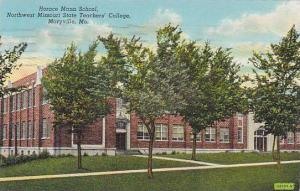 Horace Mann School, Northwest Missouri State Teachers' College, Maryville, Mi...