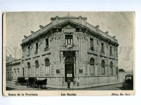 172442 ARGENTINA Buenos Aires SAN NICOLAS Banco de Provincia