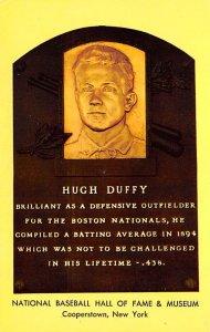 Hugh Duffy Cooperstown, New York, USA Baseball Unused