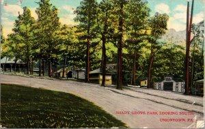 Uniontown Pa. Shady Grove Park - VINTAGE - 1910 - POSTED - Postcard