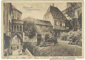 pc689 postcard Coln a. Rhine Cologne Germany 1922