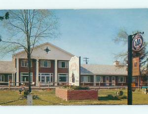 Unused Pre-1980 COLONIAL MOTEL Horseheads New York NY s4756