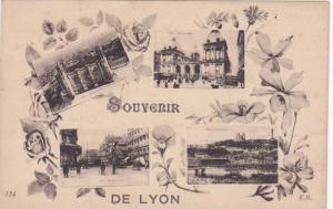 4-Views, Souvenir de Lyon, France, 10-20s