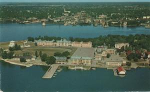 Aerial View of Royal Military College - Kingston, Ontario