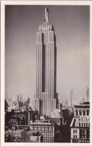 New York City Empire State Building Card Purchased Atop Empire State Building...