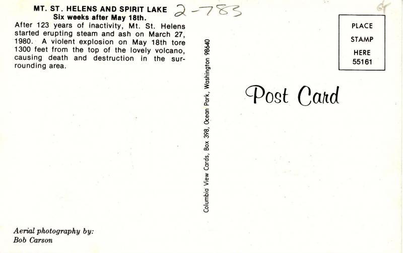 WA - Mt St Helens and Spirit Lake