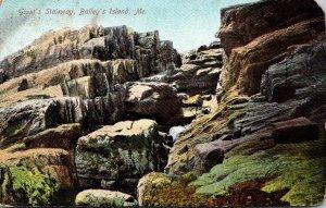 Maine Bailey's Island Giant's Stairway 1907