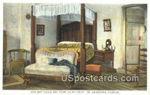 Old Don Toldeo Bed Room - St Augustine, Florida FL
