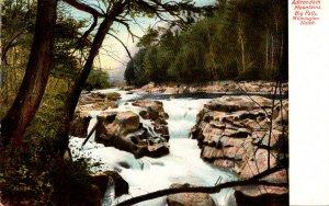 New York Adirondacks Wilmington Notch Big Falls