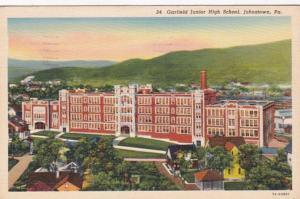 Pennsylvania Johnstown Garfield Junior High School 1939 Curteich