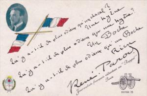 Rene Paron Journaliste francais  Orphelins de la Guerre Souvenir Patriotique ...