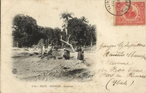 haiti, BIZOTON, Laveuses, Washing Women (1905) Postcard